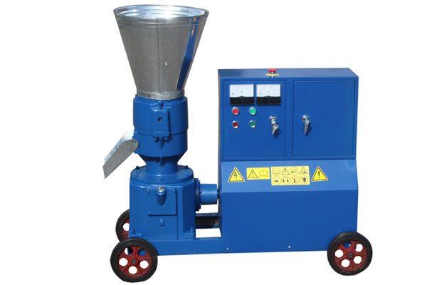 electric flat die wood pellet mill