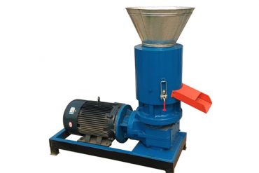 Electric Flat Die Feed Pellet Machine