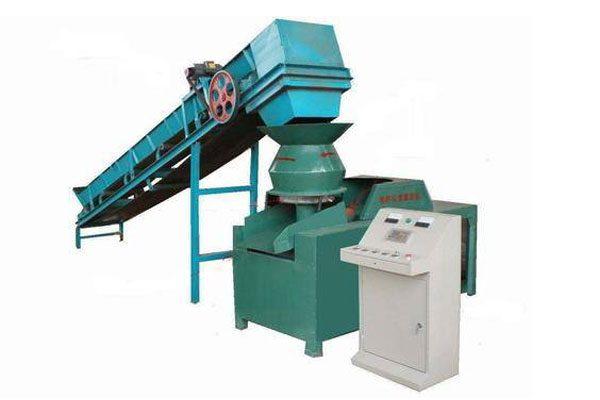 Flat Die Biomass Briquette Machine