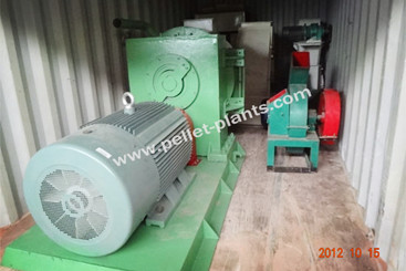 Wood Pellet Plant Exported to Spain