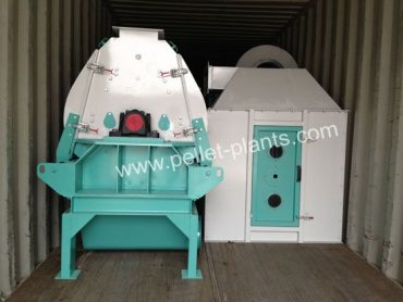 packed wood hammer mill