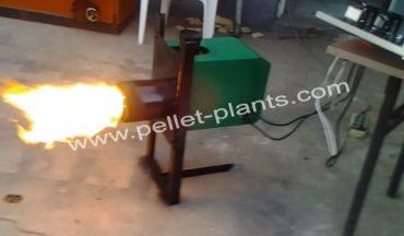 pellet burning
