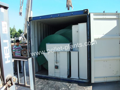 pellet machine packing