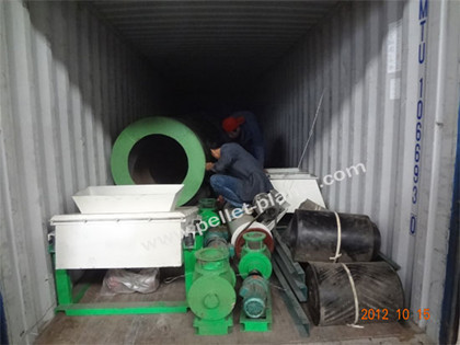 pellet mill packing