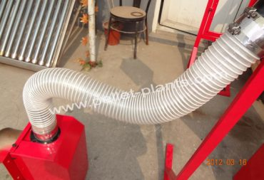 pellets conveying pipe