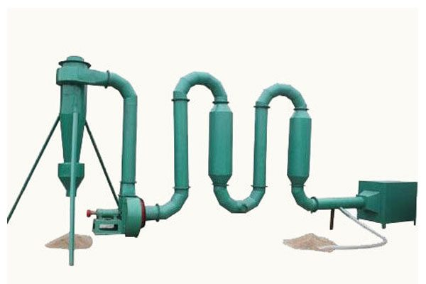 sawdust pipe dryer