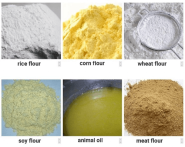 fish feed raw material