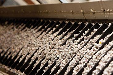 paper pellets production